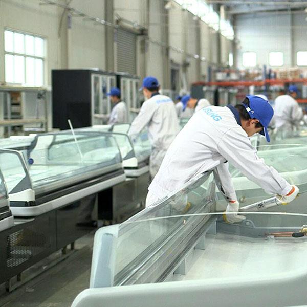 Professional China Bottom Freezer Refrigerator - Self-service Insight Single Deck – DUSUNG REFRIGERATION