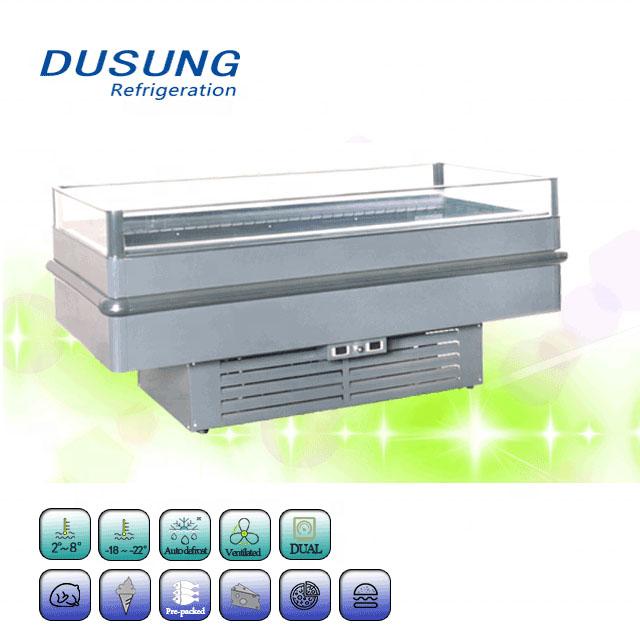 Supermarket Promotion Cabinet,Dual Compressor,Dual Temperature,Freezer & Chiller Island Freezer Featured Image