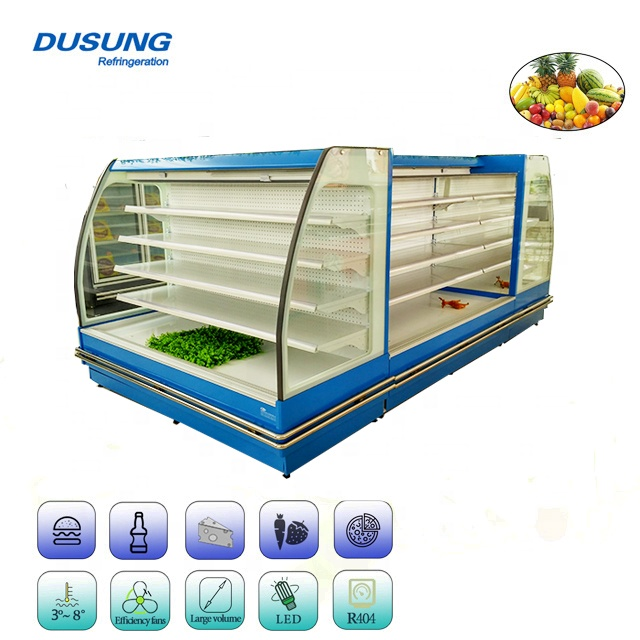 Semi Vertical Supermarket Display Refrigerator Featured Image