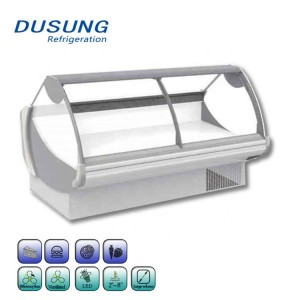 Supermarket Seafood Refrigeratior Display Cabinet