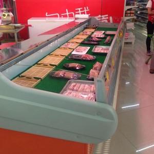 Supermarket Food Deli Display Refrigerator