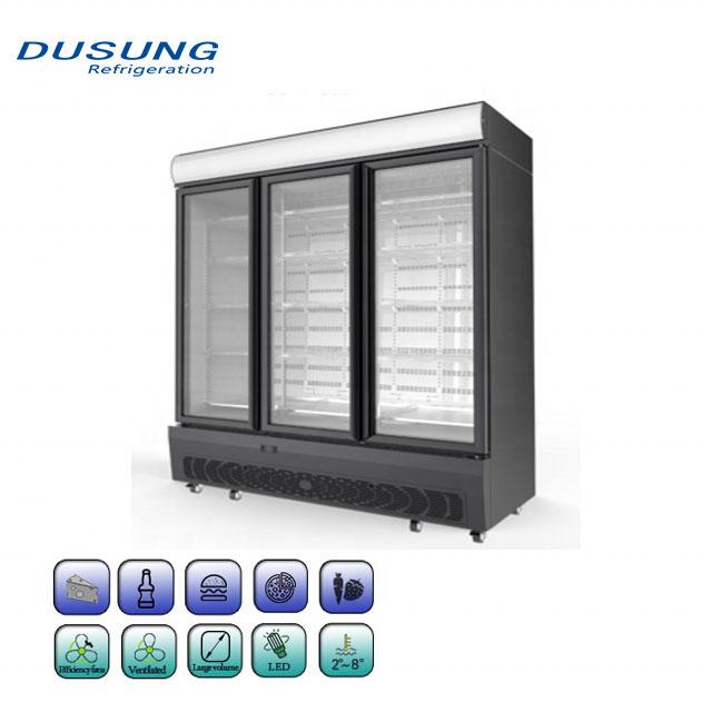 Commercial-upright-refrigerator-3-door-beverage-cooler1111