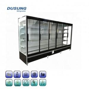 Factory Wholesale Commercial Glass Door Refrigerator