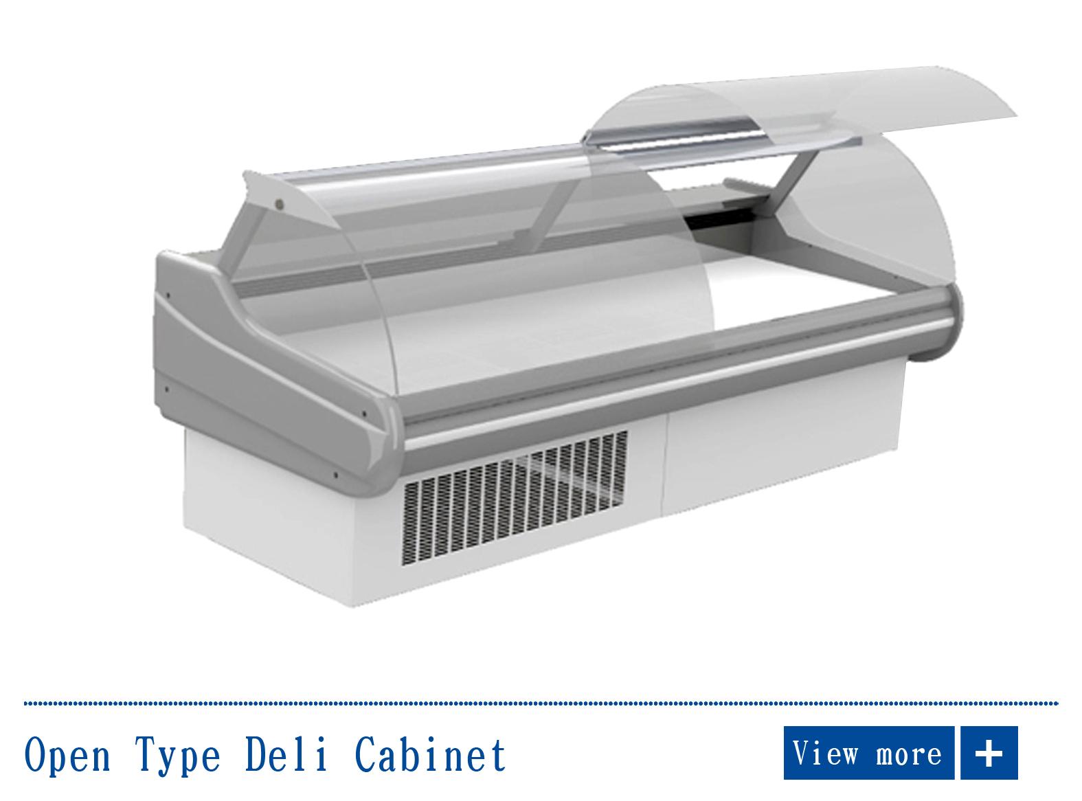 Open Type Deli Cabinet